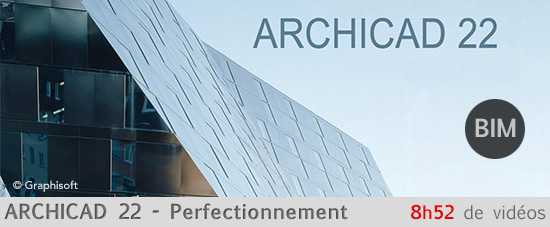Archicad 22 perfectionnement